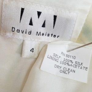 David Meister Dresses - David Meister silk halter dress